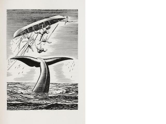 KENT, ROCKWELL, illus. 1882–1971. MEVILLE, HERMAN. Moby Dick, or The Whale. Chicago: Lakeside Press, 1930.
