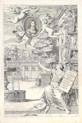 BARRIERE, DOMINIQUE. 1622-1678. Villa Aldobrandina Tusculana.... Rome: 1647.