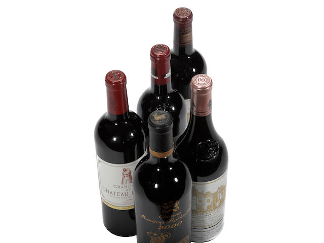Chateau Mouton Rothschild 2000 (3)