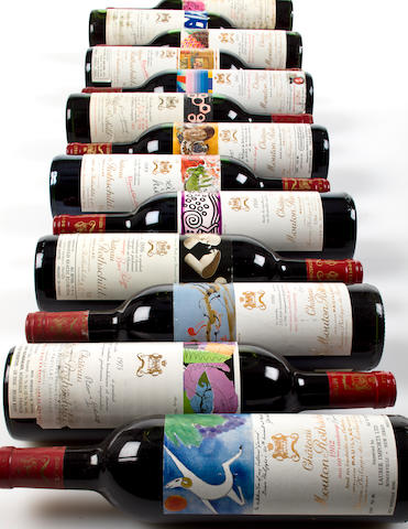 Chateau Mouton Rothschild 1982 (10)