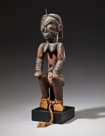 Fang-Ngumba Female Reliquary Figure, Southern Cameroon/Northern Gabon