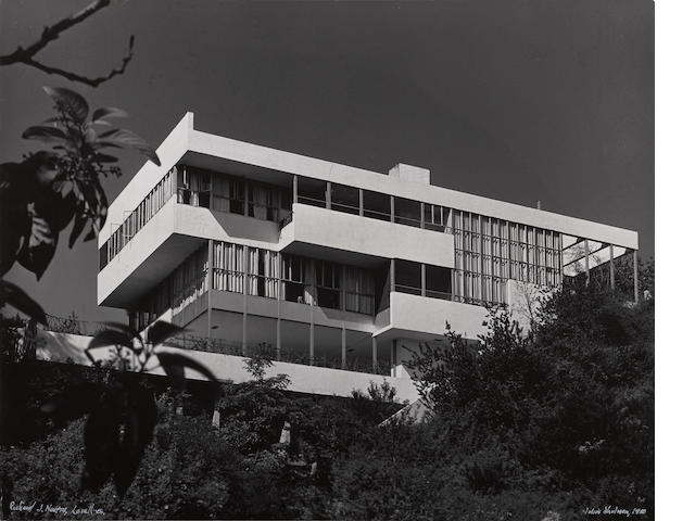 Julius Shulman (American, 1910-2009); Richard Neutra's Lovell Health House, Los Angeles, CA;