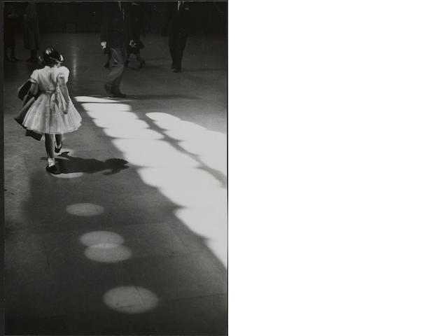 Louis Stettner (American, born 1922); Young Girl, Penn Station, N.Y.C.;