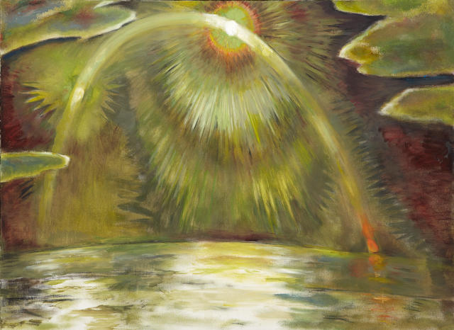 Frederick S. Wight (1902-1986) Moon in Motion, 1982 48 x 66in (121.9 x 167.6cm)