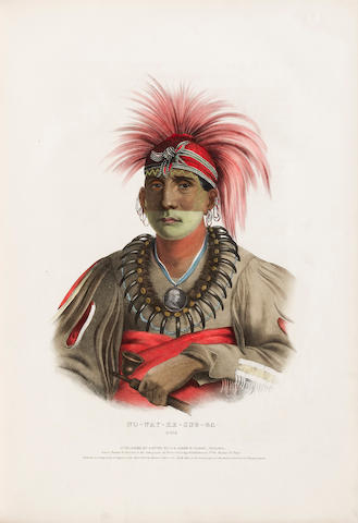 MCKENNEY, THOMAS L., AND JAMES HALL. History of the Indian Tribes of North America. Philadelphia: Edward C. Biddle (vol. 1) and Daniel Rice and James G. Clark, 1837-1842-1844.