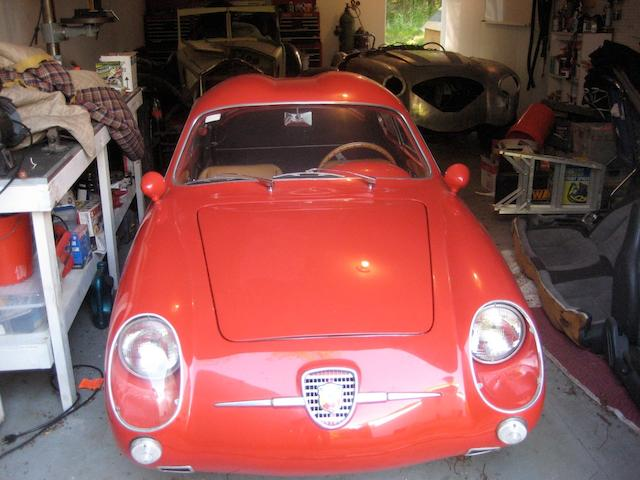 1959 Fiat Abarth 750 SS Double Bubble Coupe  Chassis no. 602924 Engine no. 2395274 (originally 656641)