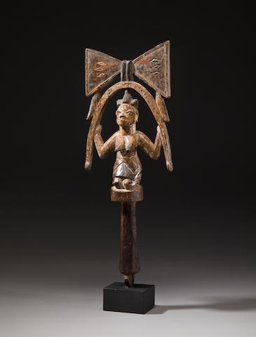 A Yoruba Staff