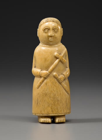 An Afro-Portuguese ivory figure