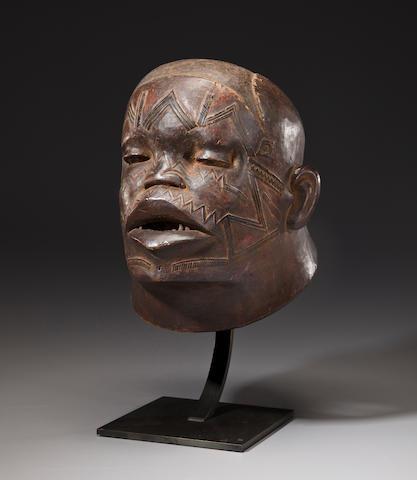 Makonde Helmet Mask, Tanzania