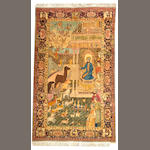 A Kerman rug South Central Persia size approximately 5ft. 5in. x 8ft. 3in.