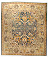 An Agra Carpet India size approximately 12ft. 2in. x 13ft.