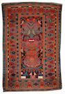 A Kurd Bidjar rug Northwest Persia size approximately 4ft. x 6ft.