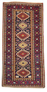 A Shirvan rug Caucasus size approximately 4ft. 6in. x 9ft.