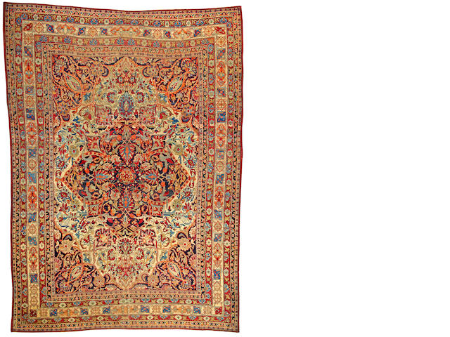 A Lavar Kerman carpet  South Central Persia size approximately 11ft. 4in. x 16ft.