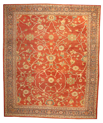 A Sultanbad carpet Central Persia size approximately 11ft. 3in. x 13ft. 6in.