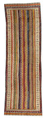 A Shahsavan Runner Caucasus  3ft. 8in. x 10ft.