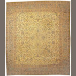 A Tabriz carpet Northwest Persia size approximately 14ft. x 16ft. 1in.