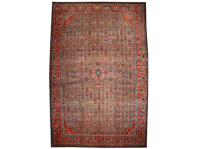 A Bidjar carpet Northwest Persia size approximately 13ft. x 19ft. 8in.