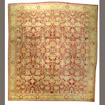 An Agra carpet India size approximately 13ft. 6in. x 15ft.