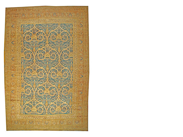 A Khorashan carpet  Northeast Persia size approximately 13ft. 4in. x 20ft. 4in.