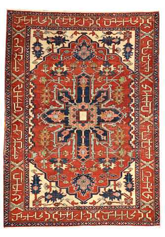A Serapi rug Northwest Persia size approximately 4ft. 9 in. x 6ft. 6in.