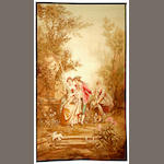 A French Tapestry France  size approximately 5ft. 11in. x 10ft. 5in.