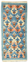 A Chinese Art Deco rug China size approximately 2ft. 8in. x 5ft. 9in.
