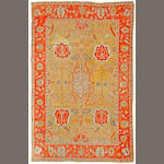 An Oushak carpet West Anatolia size approximately 10ft. x 13ft.