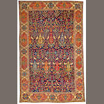 A Lavar Kerman carpet Central Persia size approximately 9ft. x 14ft. 3in.