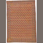 A Zeleh Sultan Kerman carpet South Central Persia size approximately 7ft. 8in. x 11ft. 2in.
