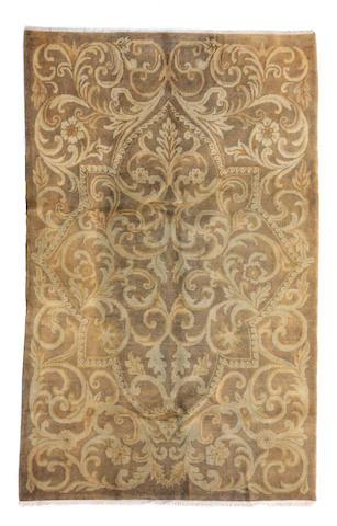 A Tibetan rug
