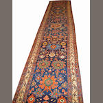 N.W. Persian Runner Northwest Persia size approximately 3ft. x 15ft. 11in.