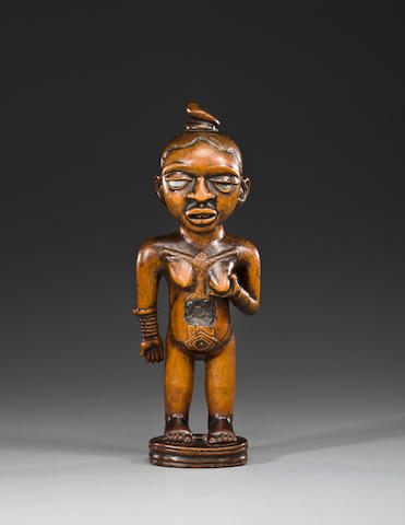 A standing female figure, Democratic Republic of the Congo