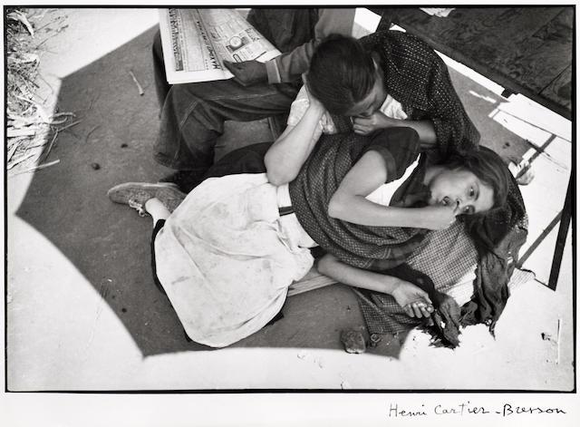 Henri Cartier-Bresson (French, 1908-2004); Calle Cuauhtemotzin, Mexico City;