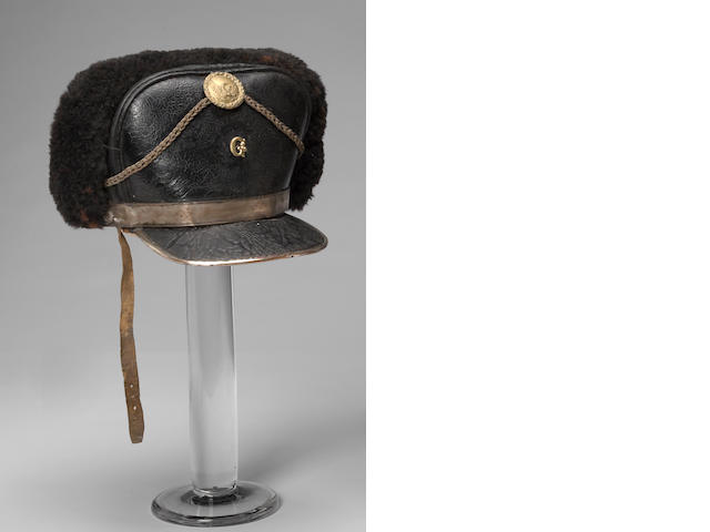 An unusual American infantry officer's forage cap