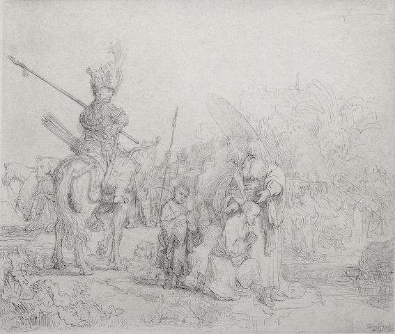 Rembrandt Harmensz van Rijn (Dutch, 1606-1669); The Baptism of the Eunuch;