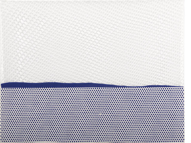 Roy Lichtenstein (American, 1923-1997); Seascape (1), from New York Ten;