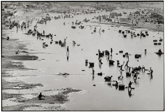 Henri Cartier-Bresson (French, 1908-2004); Amedhabad, India;