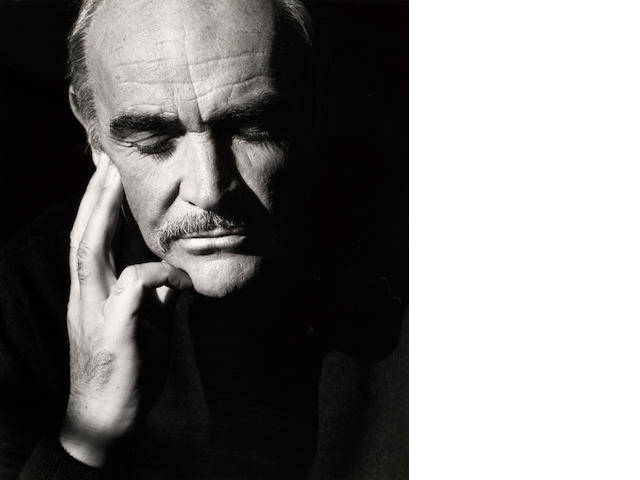 Herb Ritts (American, 1952-2002); Sean Connery, Hollywood;