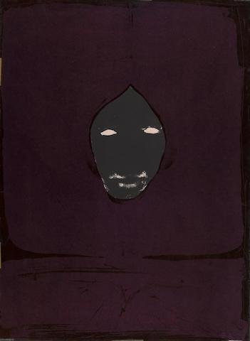 Nathan Oliveira (American, 1928-2010); Black Christ II;