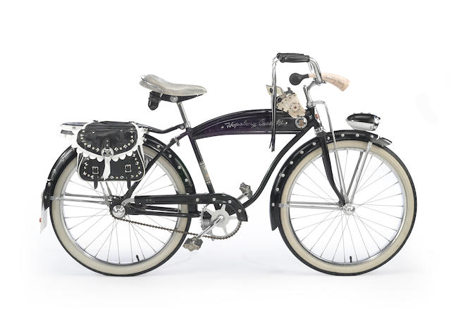 A 1952 Rollfast Hopalong Cassidey 24 inch boys bicycle,