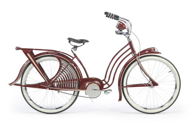 "A 1936 Elgin Skylark 26"" ladies bicycle,"