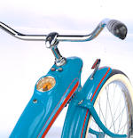 "A 1933 Elgin Bluebird 26"" mens bicycle,"