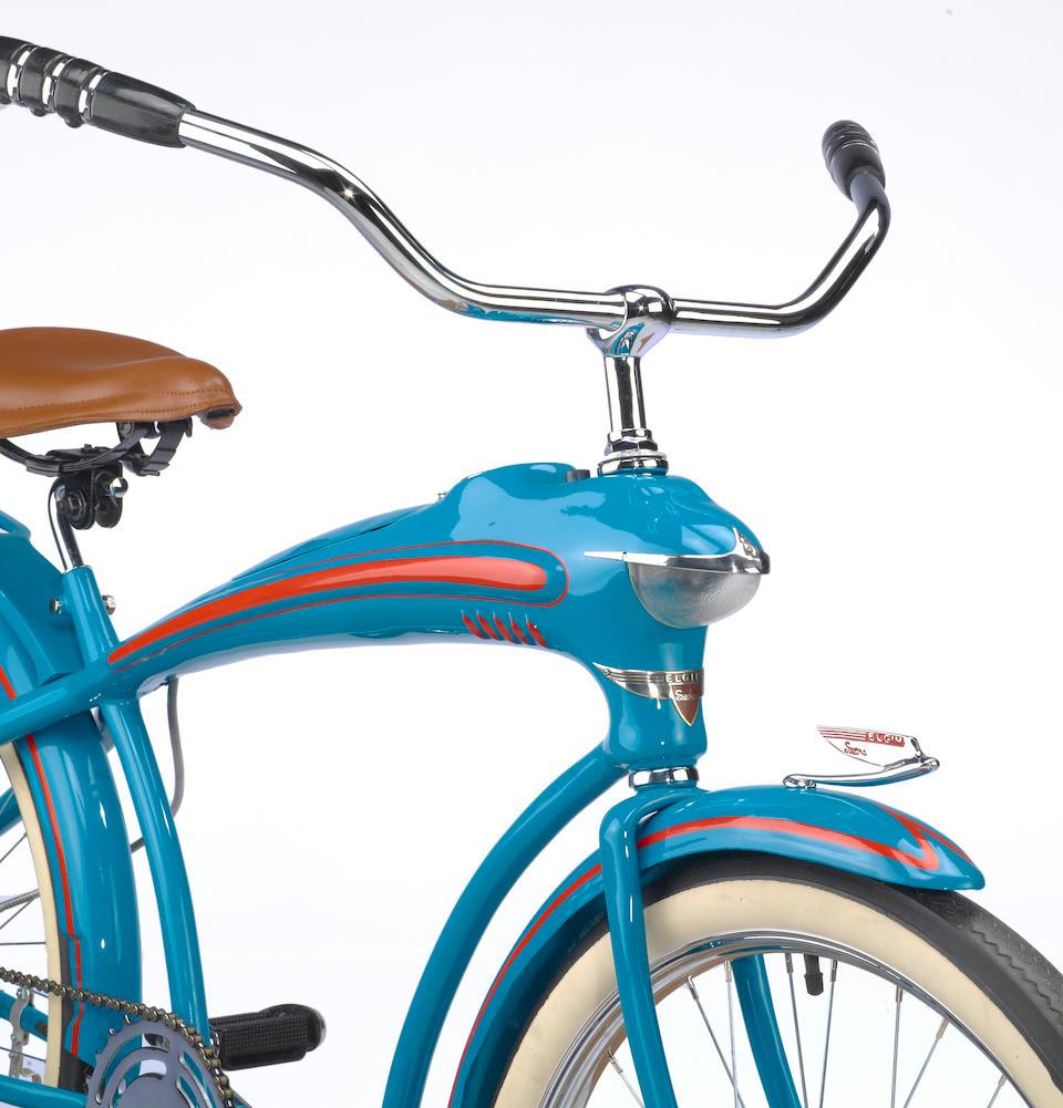 "A 1935 Elgin Bluebird 26"" men's bicycle,"