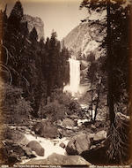 Isaiah West Taber (American, 1830-1912); Cathedral Rock, Yosemite Valley; Tenaya Canon from Glacier Point Trail; The Vernal Fall, 336 feet, Yosemite; (3)