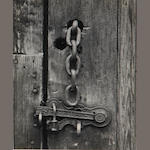 Ansel Adams (American, 1902-1984); Latch & Chain, Mineral King, California;
