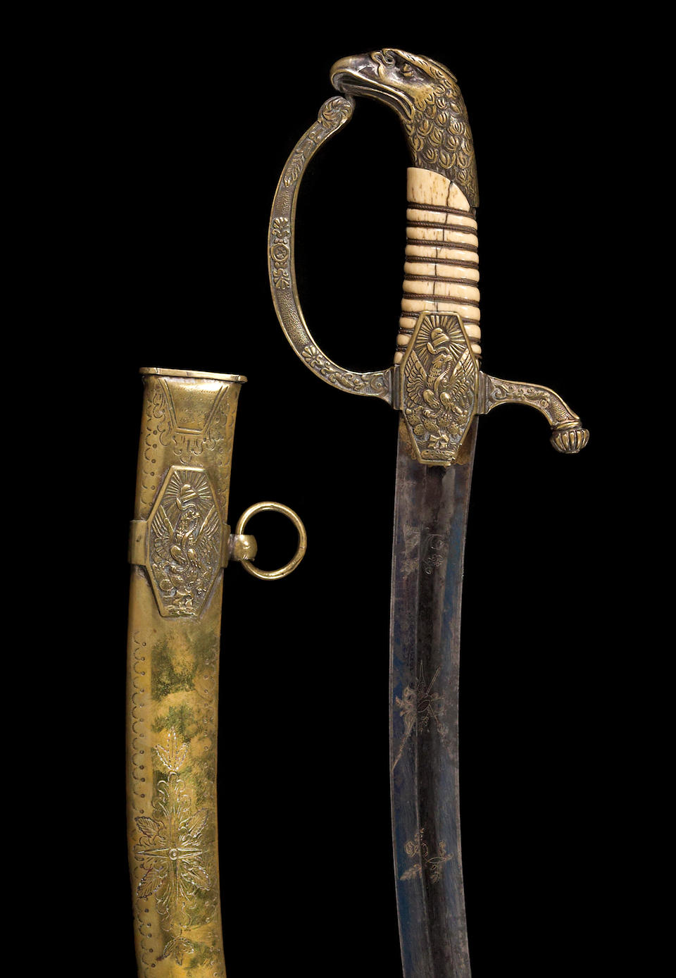 The Renwick historic Mexican officer's saber attributed to Antonio Lopez de Santa Anna