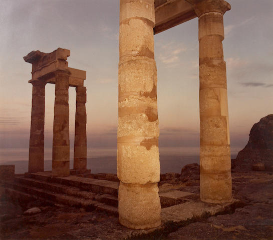 Richard Misrach (American, born 1949); Lindos, Greece;