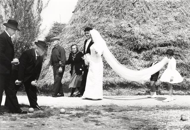 Mario Giacomelli (Italian, 1925-2000); Wedding, from La Buona Terra;