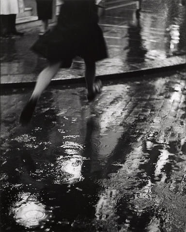 Wolfgang Suschitsky (Austrian, born 1912) Charing Cross Road, (Puddle Jumper Gelatin silver print, printed later